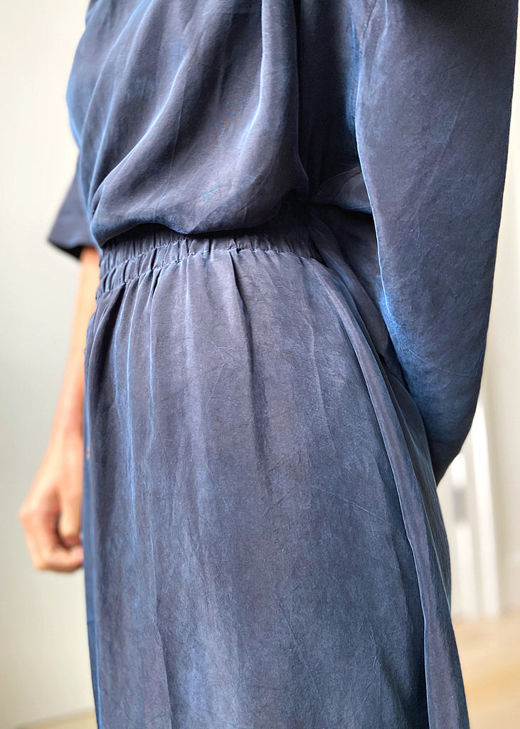 Brooklyn Maxi Skirt  - Navy - The Frock NYC