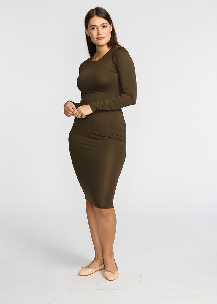 Tube Dress- Olive - The Frock NYC