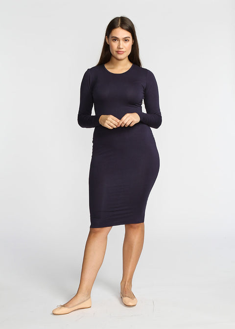 Tube Dress- Navy