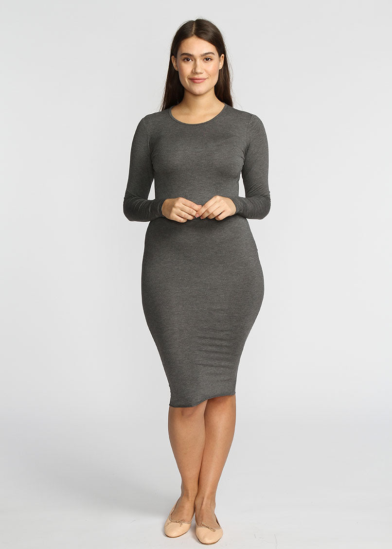 Tube Dress- Grey - The Frock NYC
