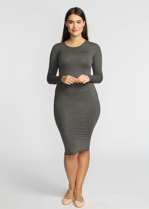 Tube Dress- Grey