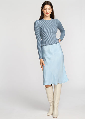 Slip Skirt - Sky Blue