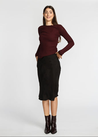 Slip Skirt - Black