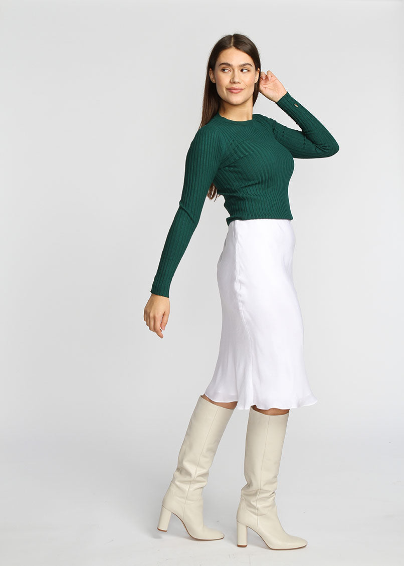 Slip Skirt - White - The Frock NYC