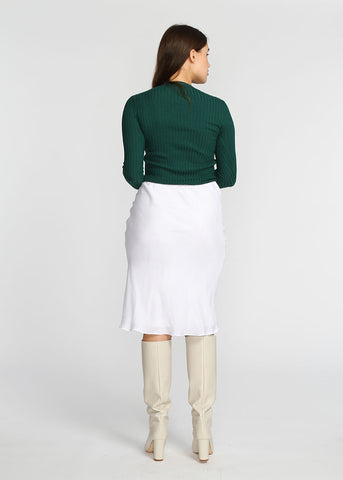 Slip Skirt - White