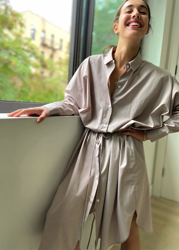 Cinch Dress - Stone - The Frock NYC