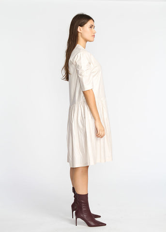 Asymmetrical Dress- Pearl