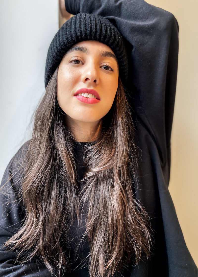 Beanie - Black - The Frock NYC
