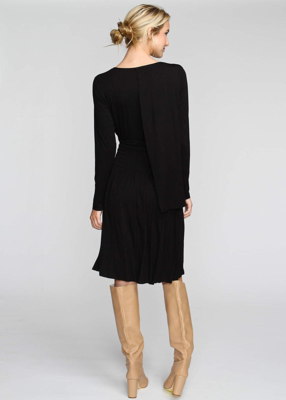 Drape T - Black - The Frock NYC
