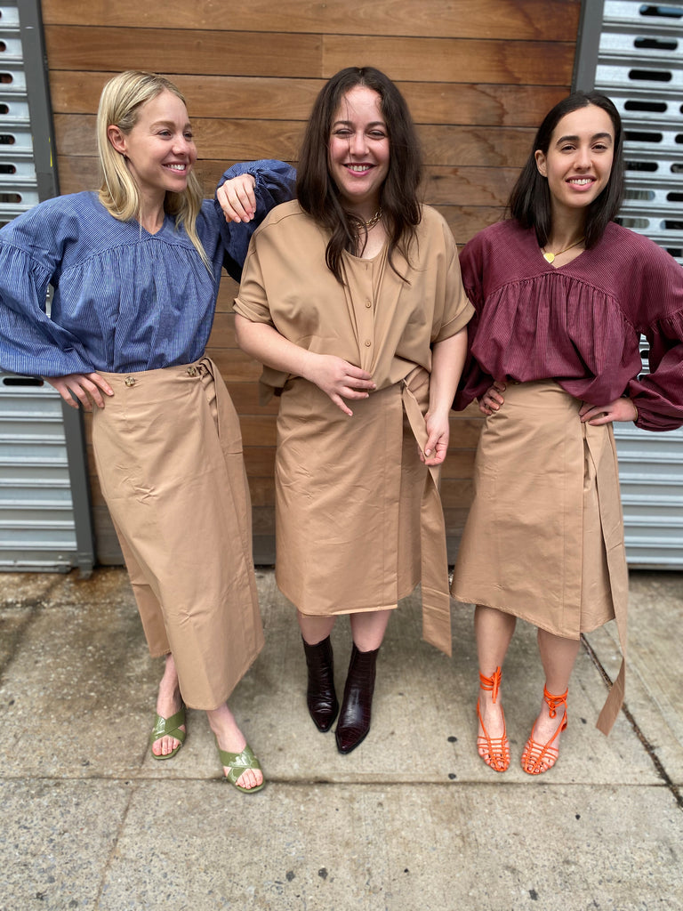 Safari Skirt SHORT - FINAL SALE - The Frock NYC