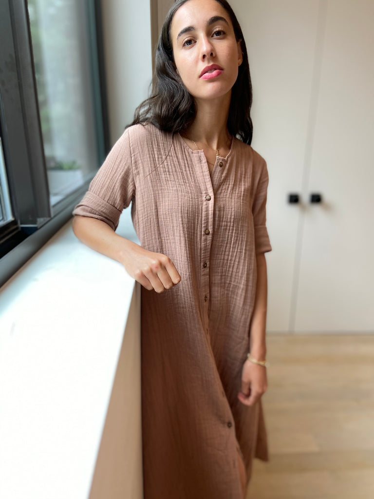 Boheme Reimagined - Dusk Pink - The Frock NYC