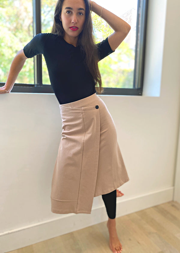 Sport Skirt - Sand - Final Sale - The Frock NYC