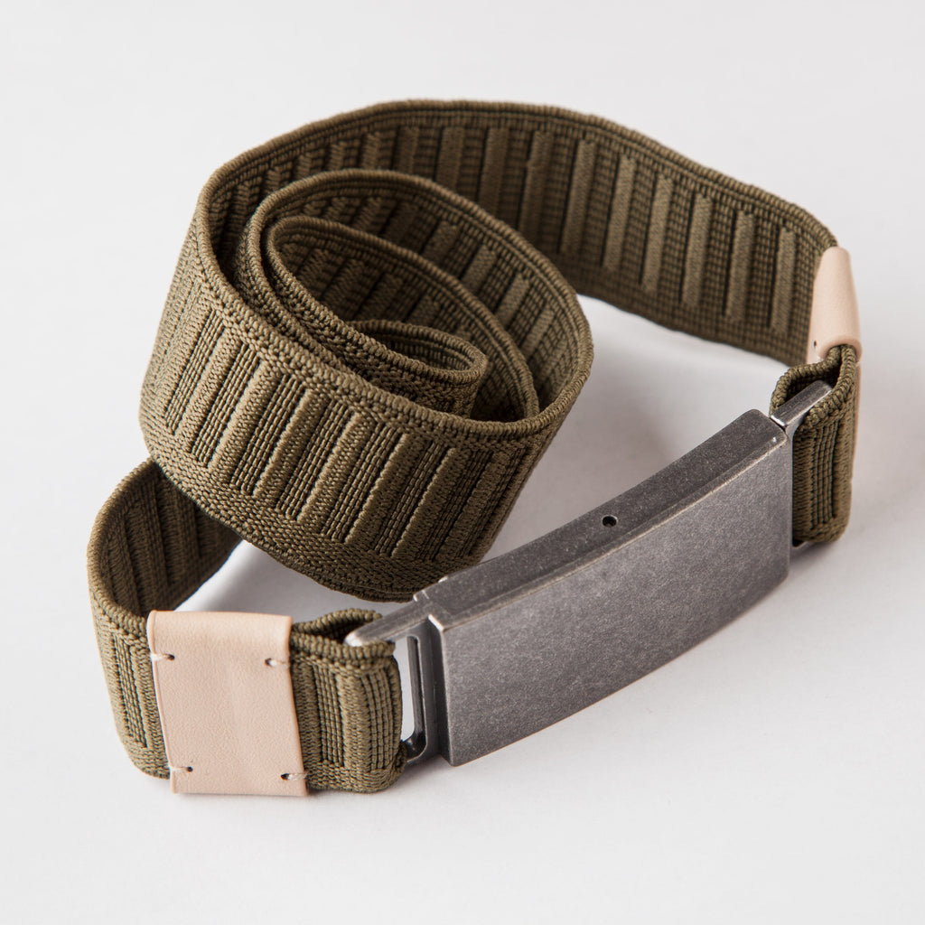 THE FROCK SEAT BELT - OLIVE $36