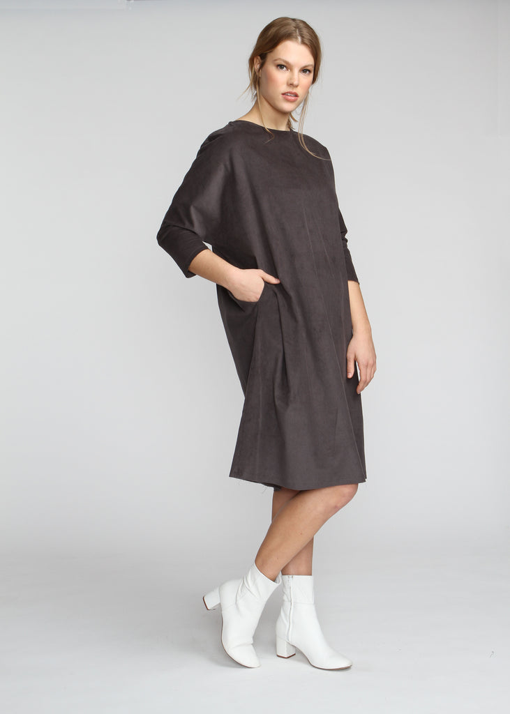 Shift Dress - Graphite - The Frock NYC