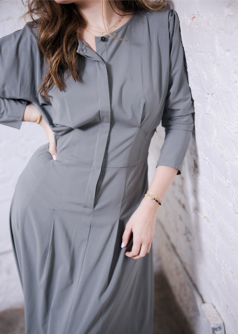 Traveler Dress - Sage - The Frock NYC