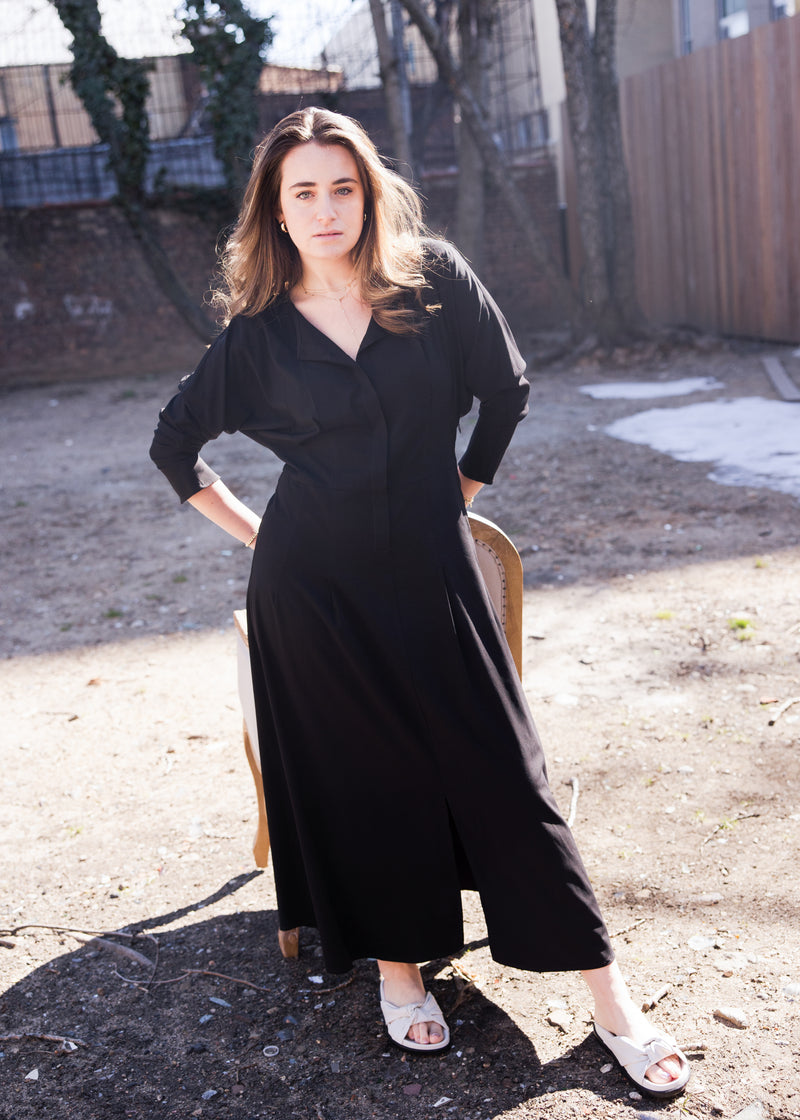Traveler Dress - Black - The Frock NYC