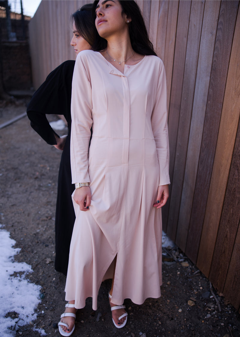 Traveler Dress - Blush - The Frock NYC