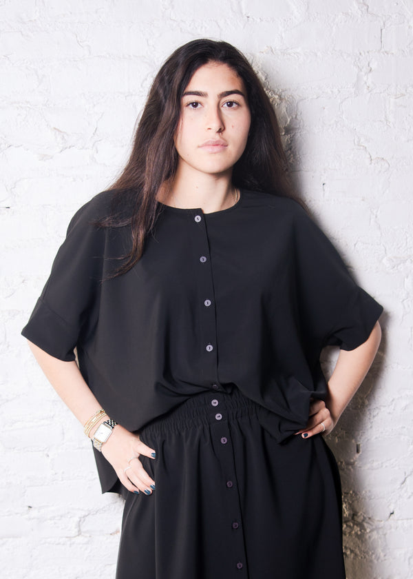 Brooklyn T - Black - The Frock NYC