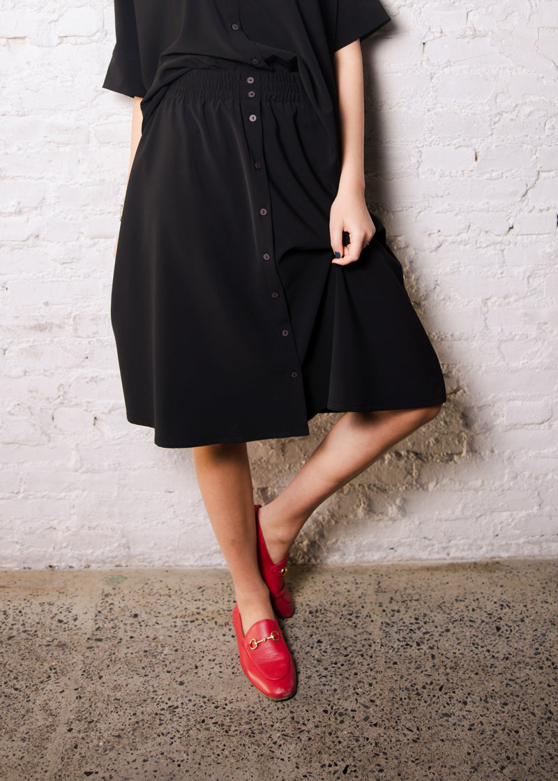 Brooklyn Skirt - Black - The Frock NYC