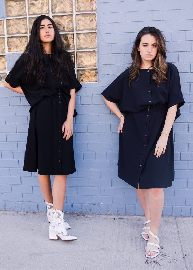 Brooklyn Skirt - Navy - The Frock NYC