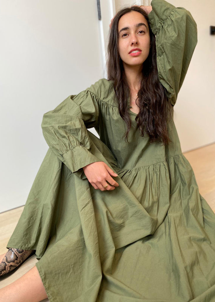 Palm Springs Dress - Cactai Green- FINAL SALE - The Frock NYC
