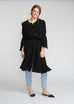 Boheme Cupro Dress - Black