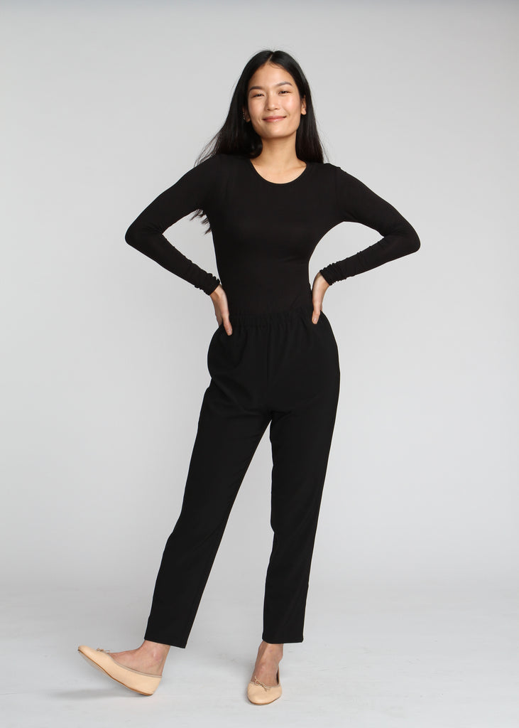 The Ez Pant - Black - The Frock NYC