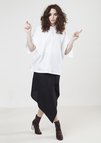 The Frock 360 Shirt-White Long Sleeve $98