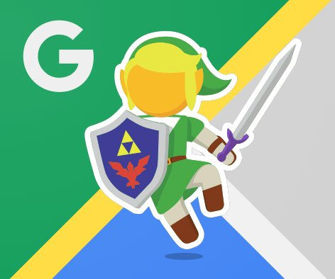Legend of Zelda 30th Anniversary Latest Update: Link Explores Google Maps