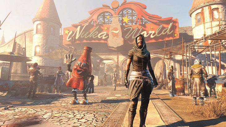 Bethesda's New Fallout 4 DLC Contraptions Workshop Arrives Tomorrow