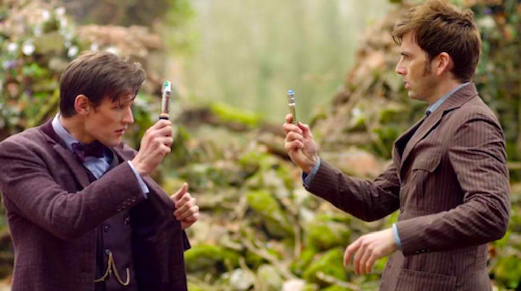 Doctor Who Updates: David Tennant and Matt Smith Team Up and Peter Cabaldi Sends Fan Mail to Comic Artist