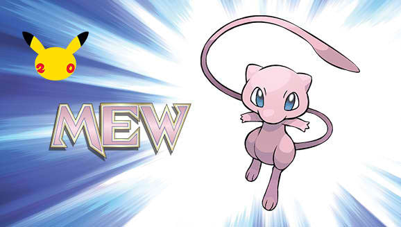 Here's Another Chance To Grab Pokemon Mew For Free