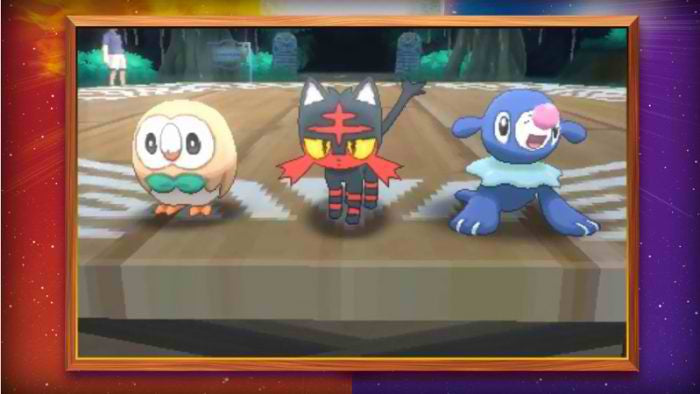 Watch The Trailer Showing Pokemon Sun and Pokemon Moon Starters, Release Date Confirmed