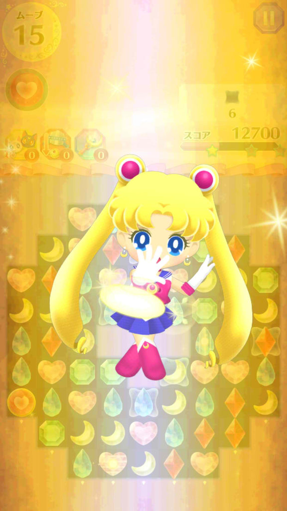 Mobile Game Sailor Moon Drops Is Out In North America