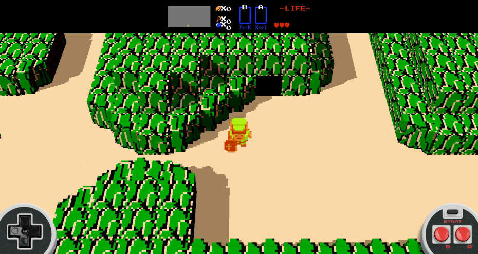 [UPDATED] Hurry And Play This Fan-Made 3D Zelda Tribute Game In Your Browser For Free!