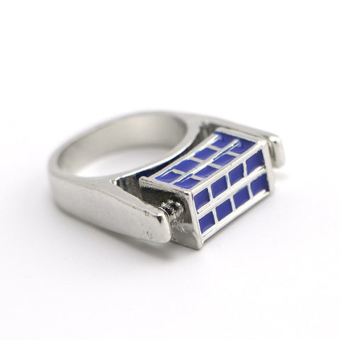 Doctor Who Tardis Ring