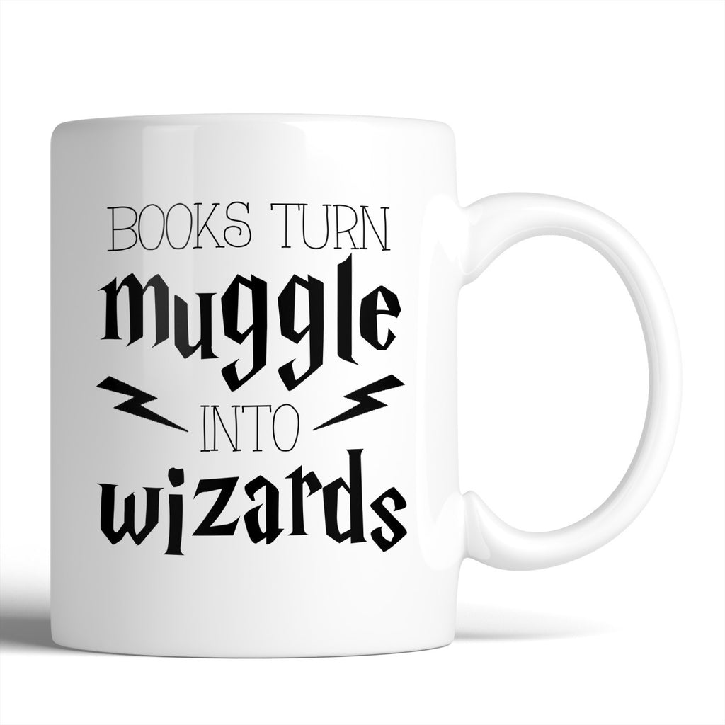 Harry Potter Books Turn Muggles Into Wizards 11oz Mug