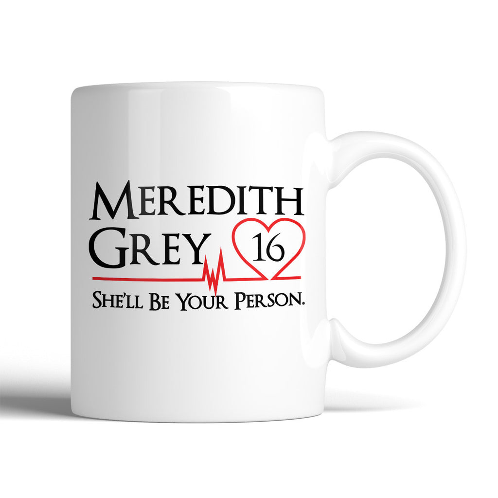Grey's Anatomy Meredith Grey 16 She'll Be Your Person 11oz Mug