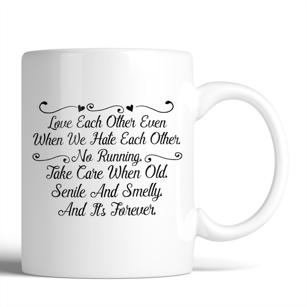 Grey's Anatomy Meredith Grey & Derek Shepherd's Vows 11oz Mug