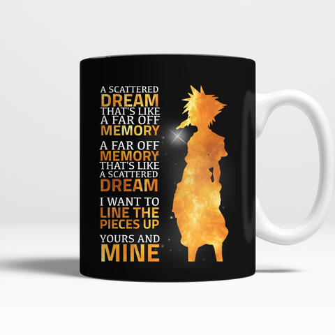 Kingdom Hearts A Scattered Dream Mug - NerdKudo - 1