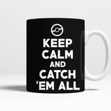 Pokemon Keep Calm And Catch 'Em All 11 oz Mug - NerdKudo - 3