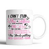 Gilmore Girls I Can't Stop Drinking The Coffee 11oz Mug