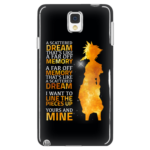 Kingdom Hearts A Scattered Dream Phone Case - NerdKudo - 1