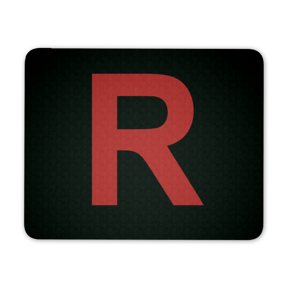 "Pokemon Team Rocket ""R"" Mousepad - NerdKudo"