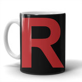 "Pokemon Team Rocket ""R"" Mug - NerdKudo - 2"