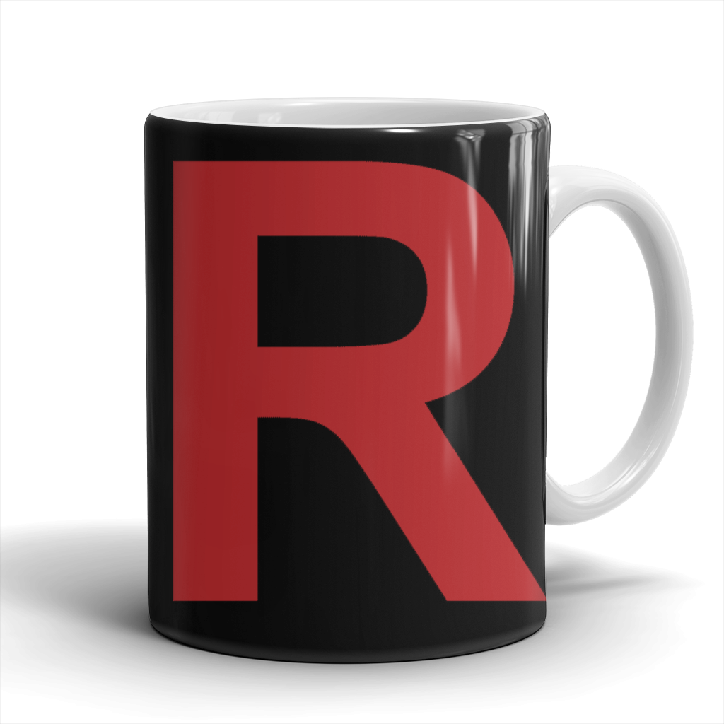 "Pokemon Team Rocket ""R"" Mug - NerdKudo - 1"