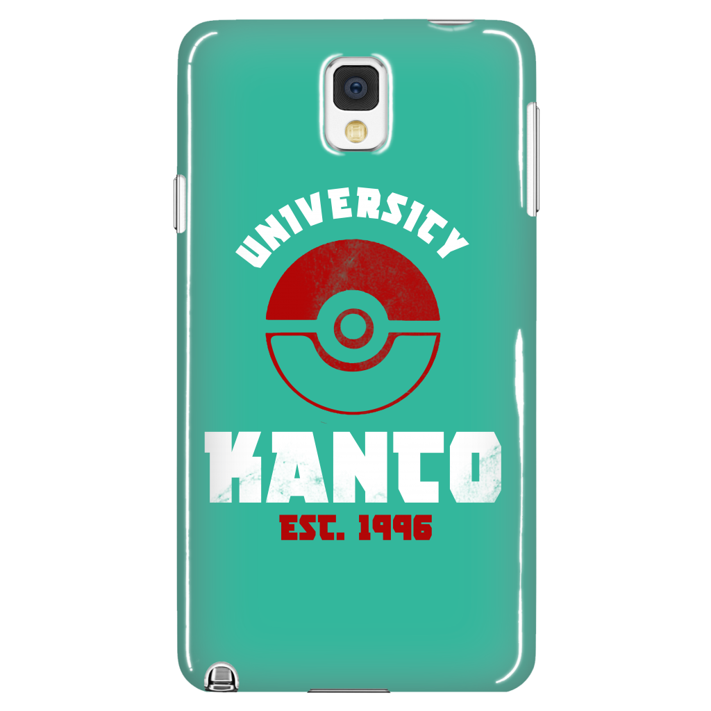 Pokemon Kanto University Est. 1996 Phone Case - NerdKudo - 1