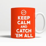 Pokemon Keep Calm And Catch 'Em All 11 oz Mug - NerdKudo - 2