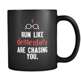 Harry Potter Run Like Dementors Are Chasing You Mug - NerdKudo - 1