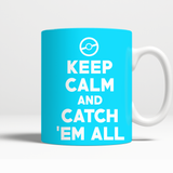 Pokemon Keep Calm And Catch 'Em All 11 oz Mug - NerdKudo - 5
